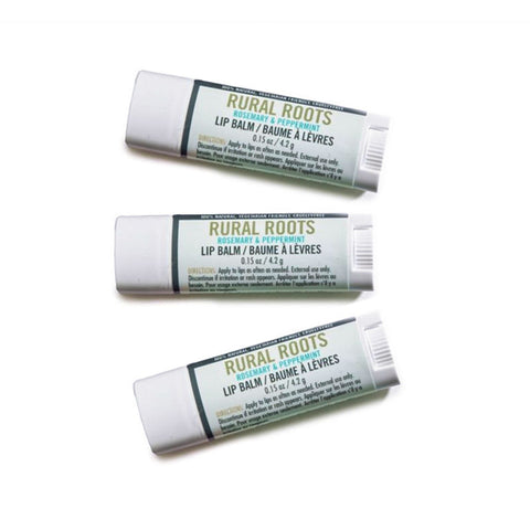 Rural Roots Hemp Lip Balm 3 Pack from Evolution Mine