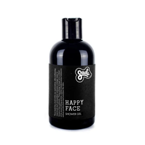 Suds Happy Face Bamboo Shower Gel from Evolution Mine