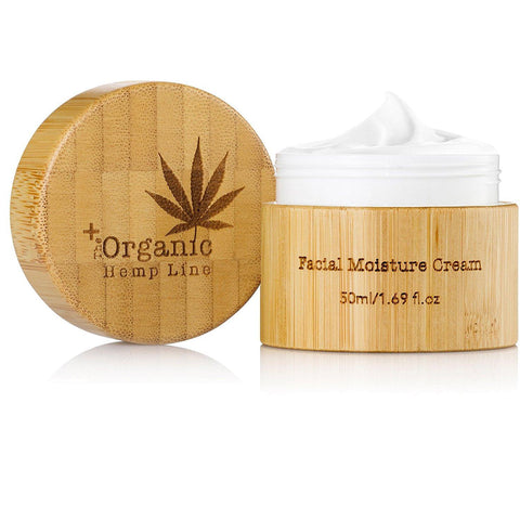 The Organic Hemp Line Facial Moisture Cream with Hemp Seed Oil and Hyaluronic Acid - ShopEvoMine Hemp and Bamboo