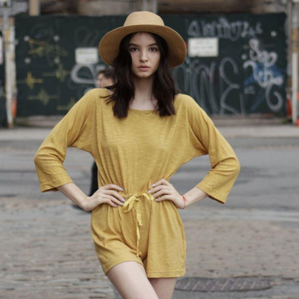 Women's Hemp Romper