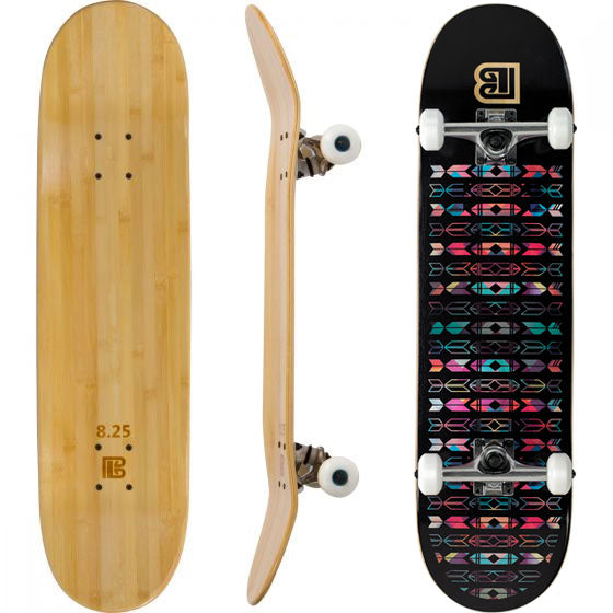 Evolution Mine - Bamboo Skateboard - Deck - Native