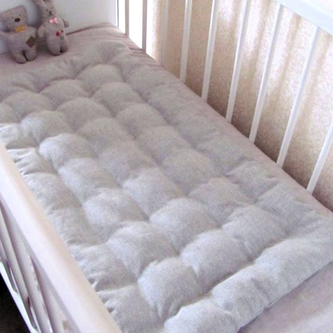 Hemp Baby Crib Mattress Natural