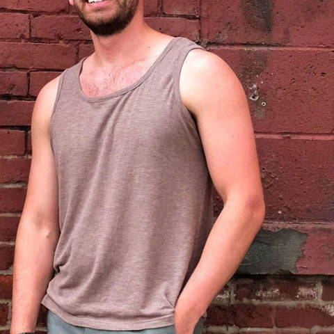 Men's Simple Hemp Tank
