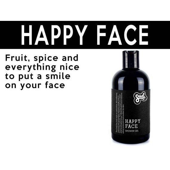 Suds- Happy Face Bamboo Shower Gel