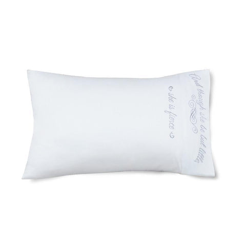 Little But Fierce - Faceplant Bamboo Satin Pillowcase