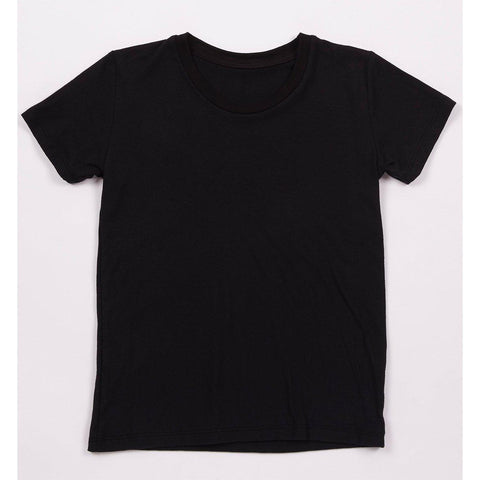 Women's Hemp Black Tee
