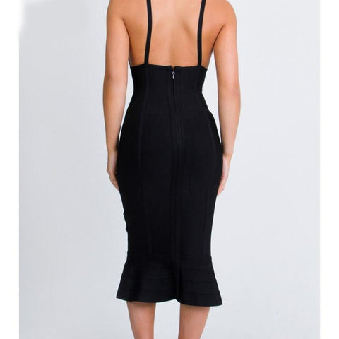 Image of Glenda Dress| Black, Bandage Dress - Viva Devine