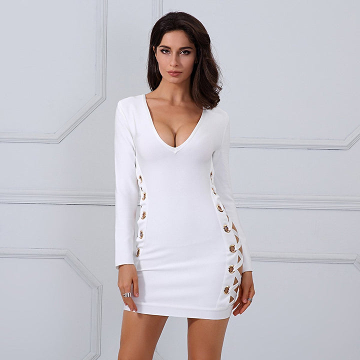 Brooklyn Dress, Bandage Dress - Viva Devine