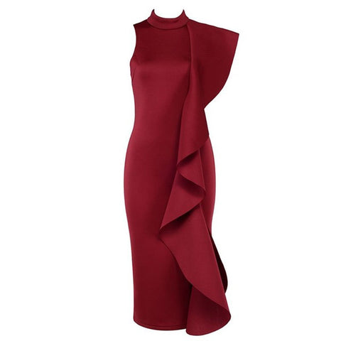 Image of Florence Dress | Wine Red, Bandage Dress - Viva Devine