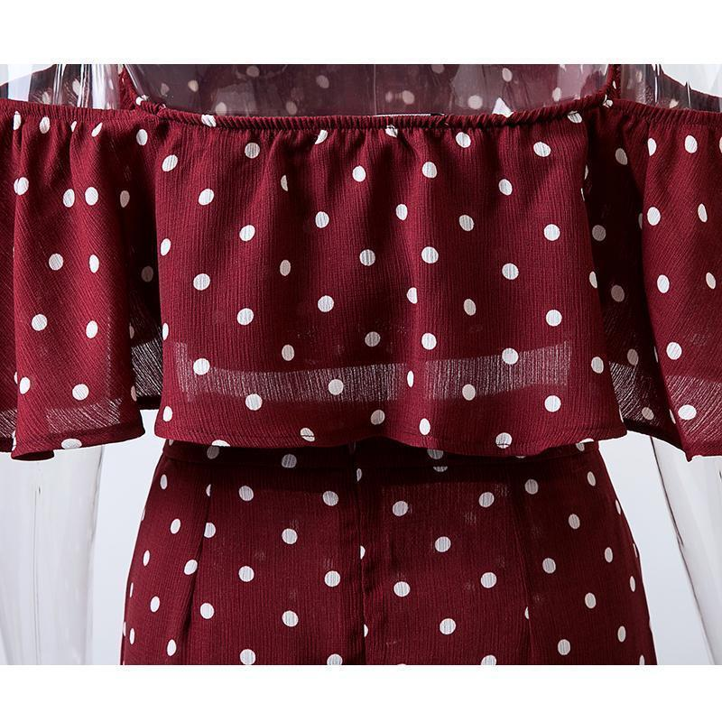 Lucia Dot Two Piece Set - Viva Devine
