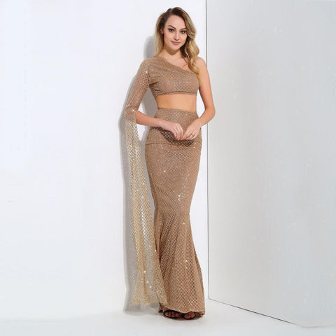 Image of Emilia Sequin Two Pieces Set, Two Piece - Viva Devine