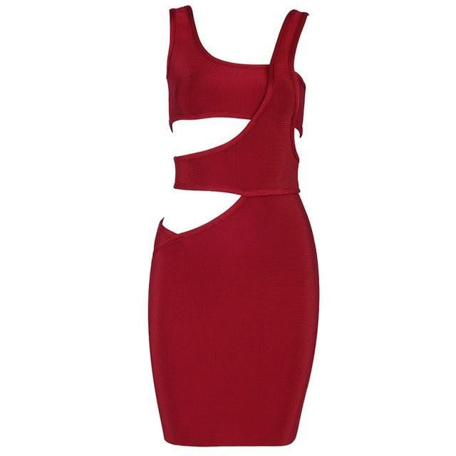 Janet Cut Out Bandage Dress