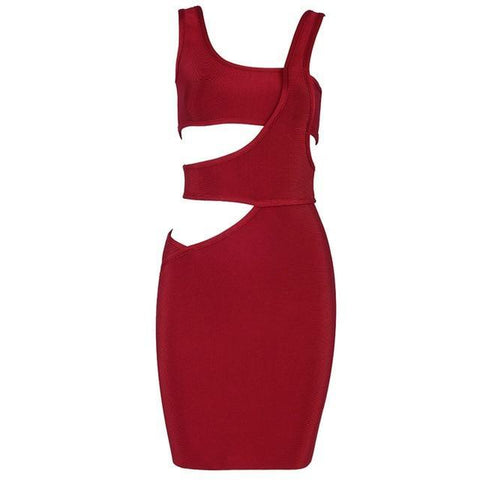 Image of Janet Cut Out Bandage Dress, Bandage Dress - Viva Devine