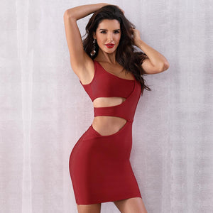 Janet Cut Out Bandage Dress, Bandage Dress - Viva Devine