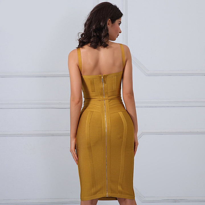 Harriet Dress| Yellow