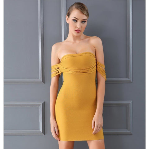 Image of Jenna Dress, Bandage Dress - Viva Devine