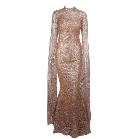 Image of Juliette Glitter Gown | Rose Gold, Formal Dress - Viva Devine