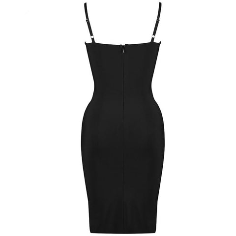 Image of Laure Hollow Out Bandage Dress, Bandage Dress - Viva Devine