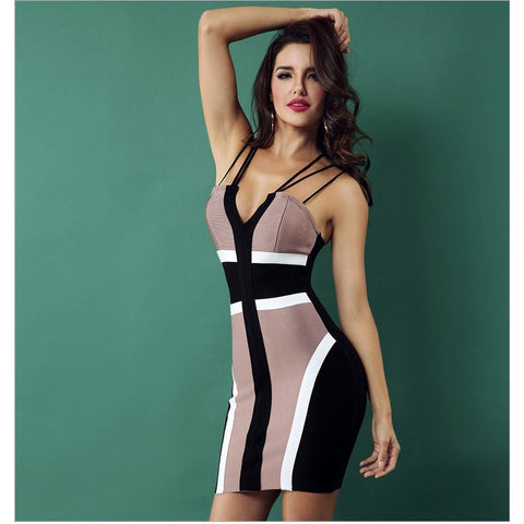Image of Maya Bandage Dress - Viva Devine