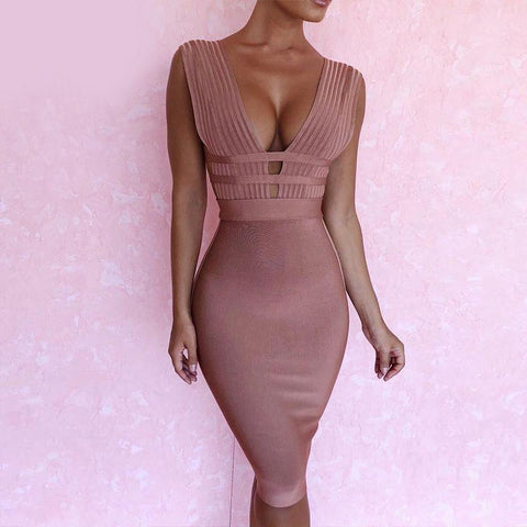 Image of Monica Tank Bandage Dress, Bandage Dress - Viva Devine