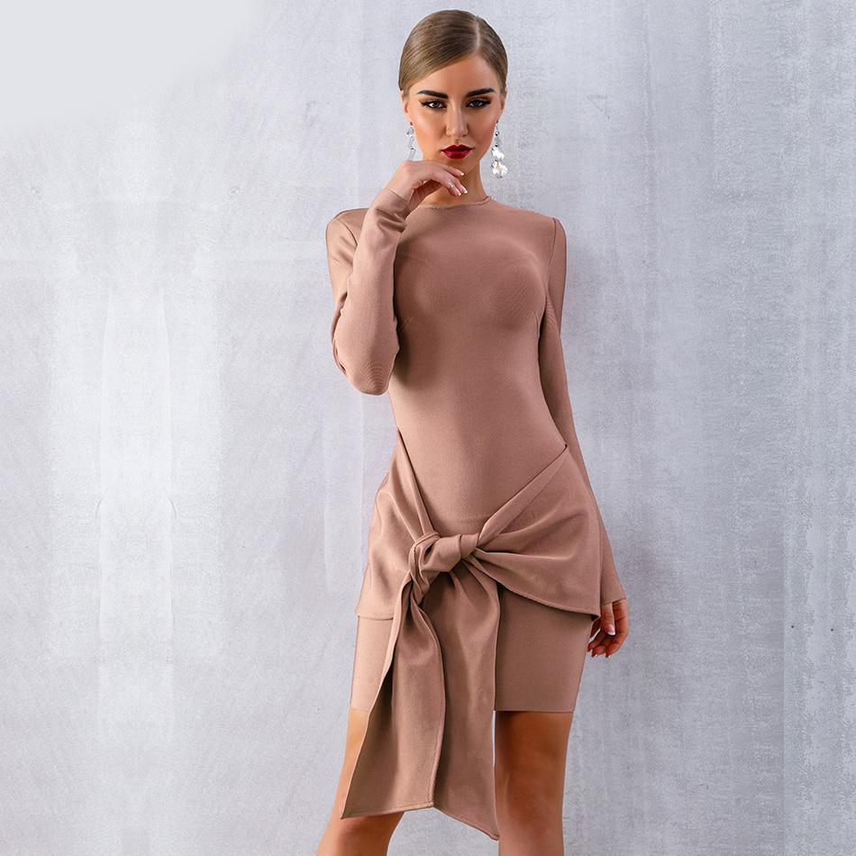 Nicole Basic Bandage Dress