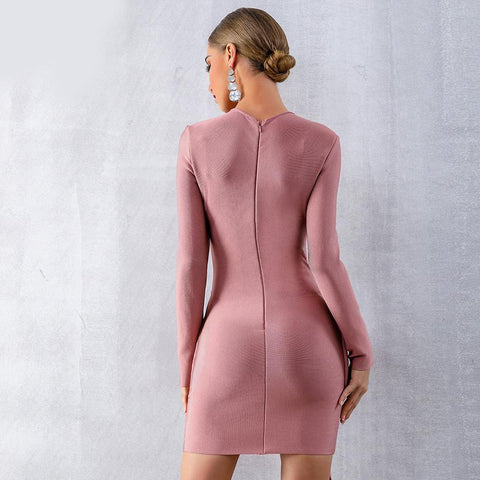 Image of Nicole Basic Bandage Dress