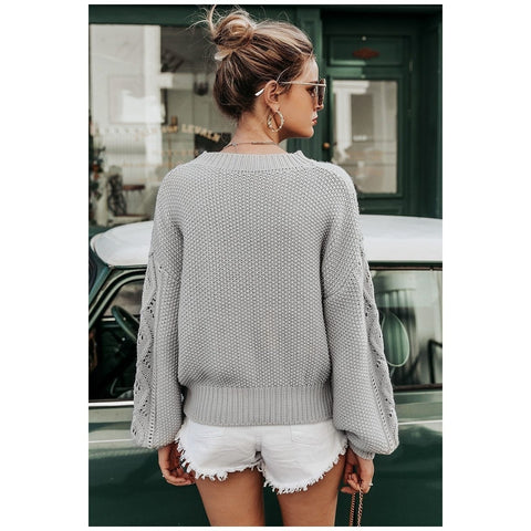Risa Hollow Out Knit