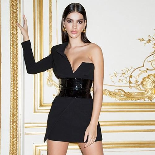 Sirene One Shoulder Party Dress