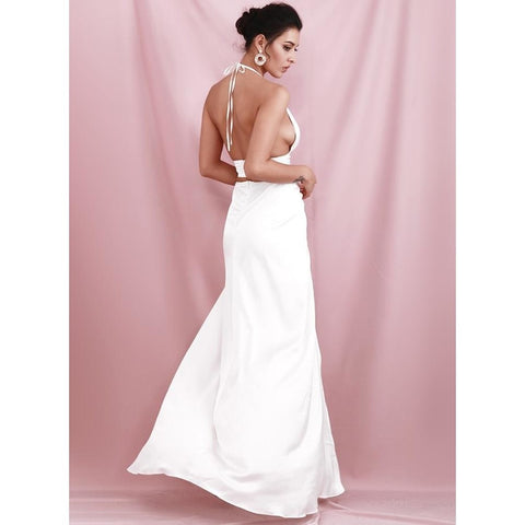 Image of Caterina Open Back Maxi Dress