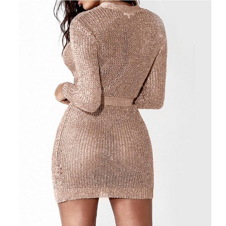 Helena Knitted Cardigan Dress