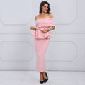 Seledona Two Pieces Dress | Pink