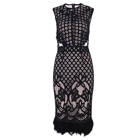 Sophie Sleeveless Lace Dress