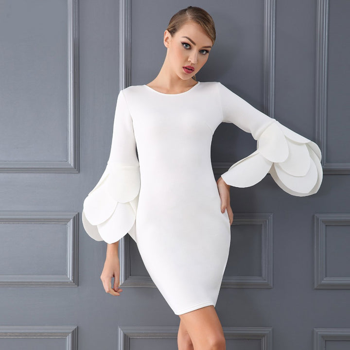 Veronica Dress | White - Viva Devine