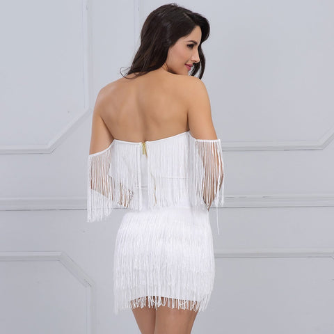 Image of Fern Dress | White, Bandage Dress - Viva Devine