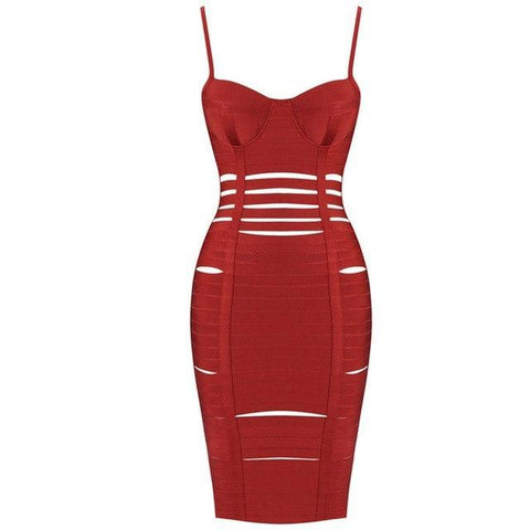Oscar Cut Out Bandage Dress, Bandage Dress - Viva Devine