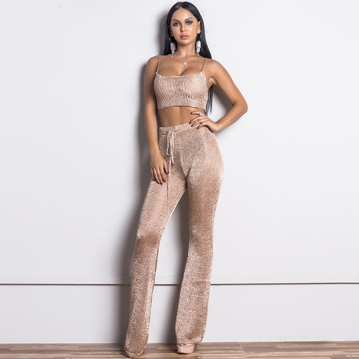 Shona Two Pieces Set Romper