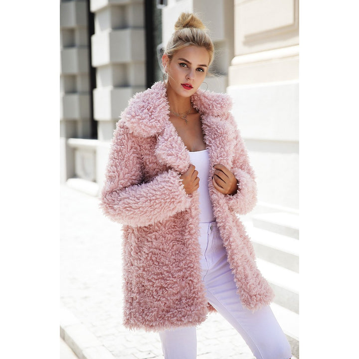 Mina Faux Fur Coat Plus Size
