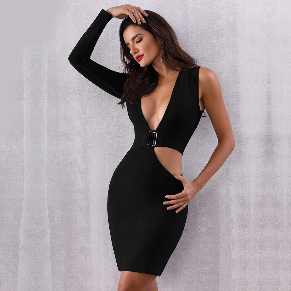 8fa1499a1291 Yvonne Hollow Out Bodycon Dress. Hover to zoom