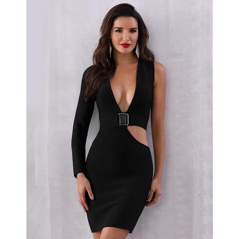 Image of Yvonne Hollow Out Bodycon Dress