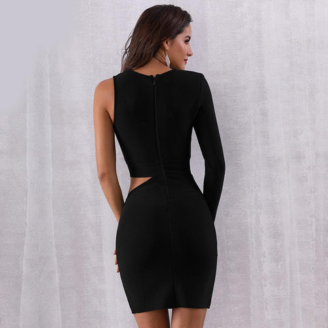Yvonne Hollow Out Bodycon Dress