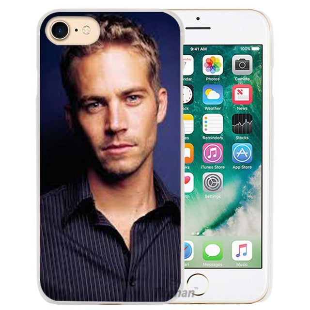 Paul Walker. Fast and the Furious iPhone Cover