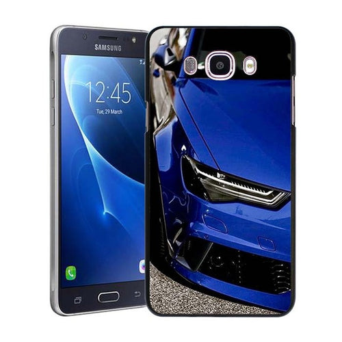 Supercar Blue. Samsung Galaxy J Series Phone Case.