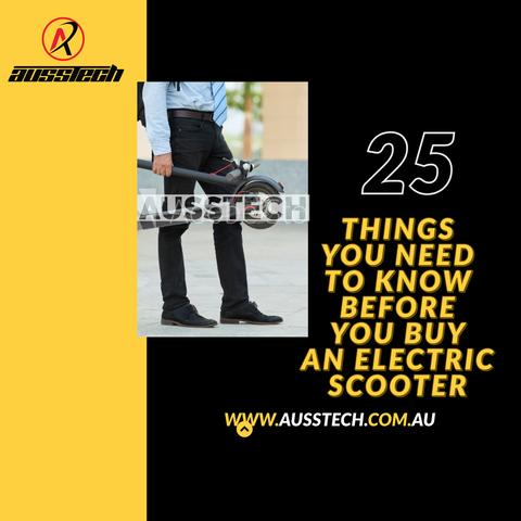 25 Things You Need To Know Before You Buy An Electric Scooter
