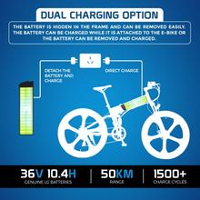 """Ausstech Monster 26"""" stylish Foldable Electric bikes LG  Lithium Ion Battery"""