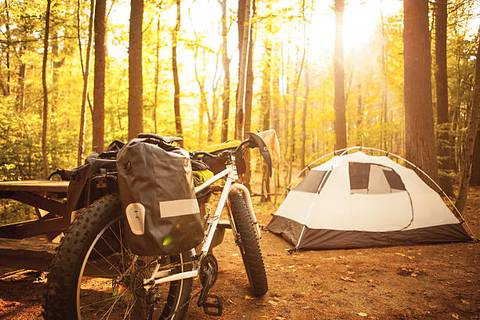 Traveling and Camping on Ebike