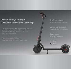 "Ausstech AX7 10"" Electric Scooter"