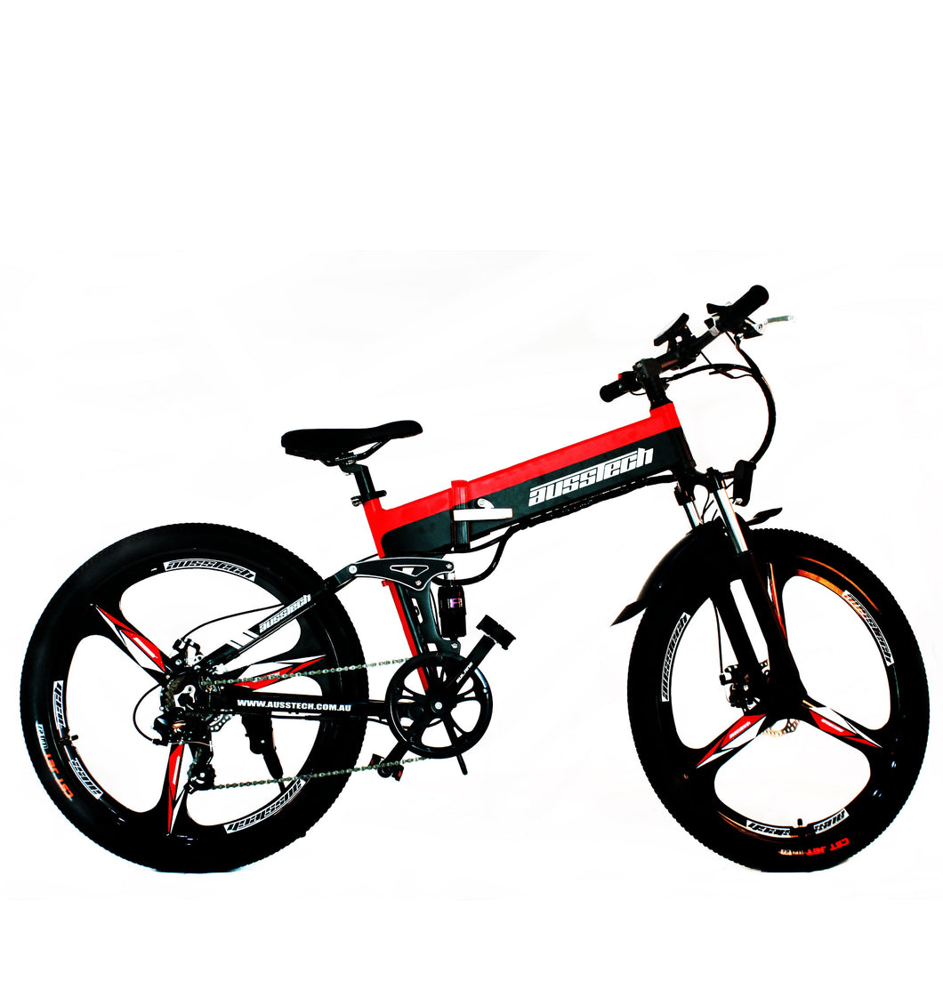 "Ausstech Thunder 26"" stylish foldable Electric bike"