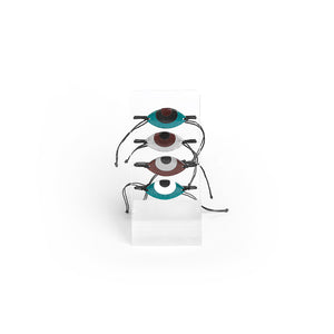 STONE EYE PLEXI GLASS BRACELET