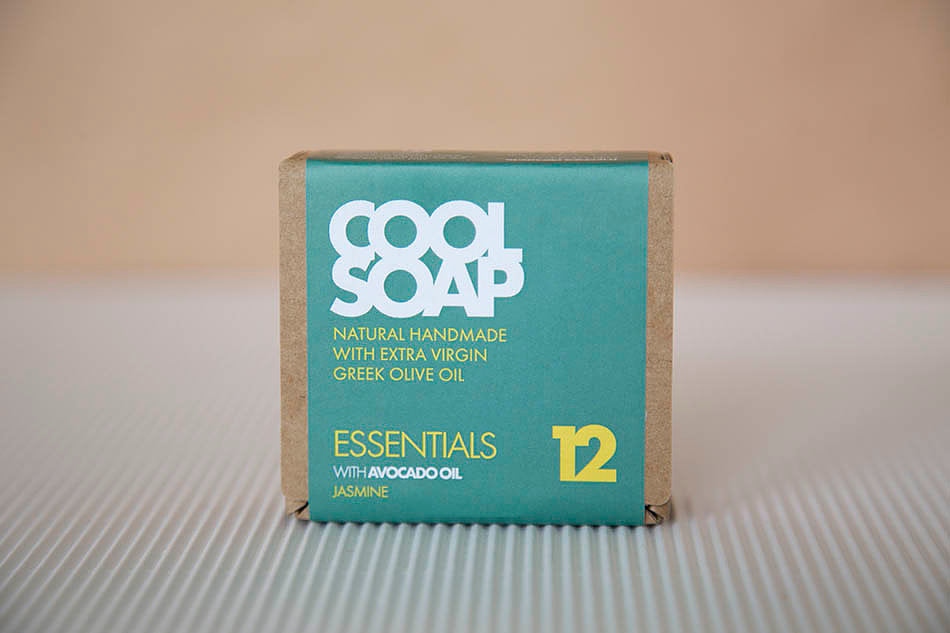 ESSENTIALS SOAP 12 – AVOCADO OIL & JASMINE by COOL SOAP