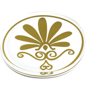 ANTHEMIUM COASTERS by GRACIOUS GREECE